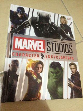 Marvel studios Character book