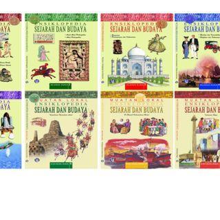 MUATAN LOKAL ENSIKLOPEDIA SEJARAH DAN BUDAYA Satu Set Delapan Buku