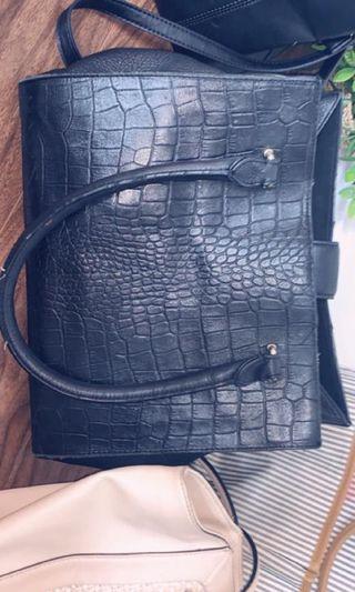 Authentic danier black bag