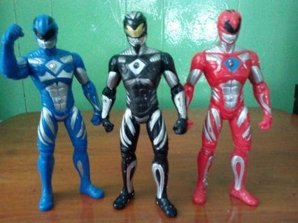 Power Ranger the movie figure.