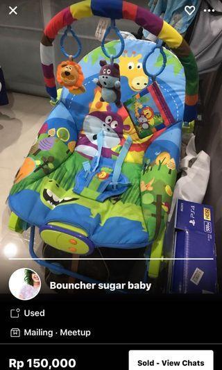 Bouncher sugar baby like NEW