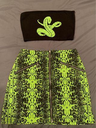 Snake Print set