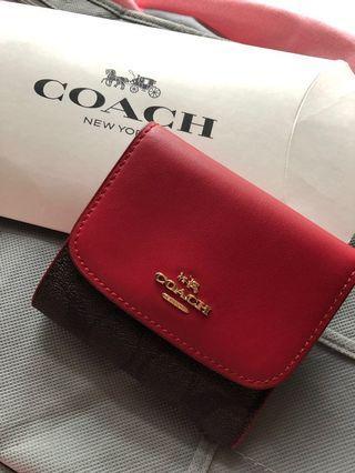Coach Wallet 銀包 coin bag 散紙包