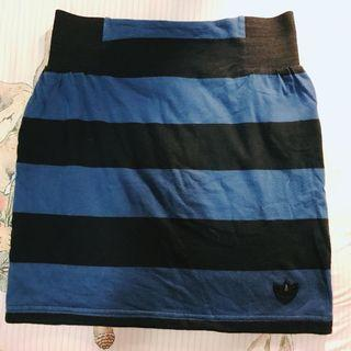 Adidas 三葉草 布裙 短裙