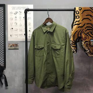 :AgdLab:Globalwork - 軍裝雙口袋襯衫