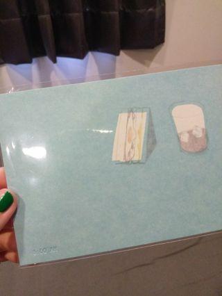 🚚 2014現在 08:00AM  〰️明信片