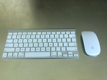 🚚 Apple Wireless Keyboard with Magic Mouse