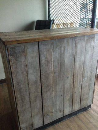 Wood Counter Table - Cashier