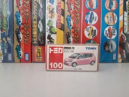 TOMICA,TOMY,JAZZ,FIT NO 100