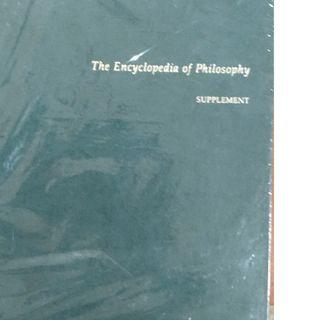 The Encyclopedia Of Philosophy Supplement Macmillan Reference USA Green Cover