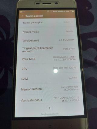 Hp Xiaomi Readmi 4