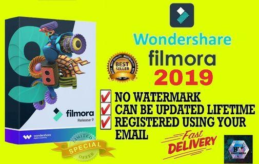[CAN UPDATED] WONDERSHARE FILMORA 2018 FULL VERSION  WINDOWS #MY1010