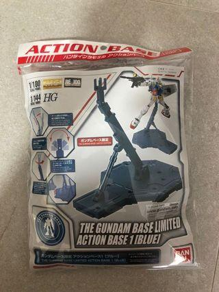 🚚 The Gundam Base Limited Action Base 1 [Blue]