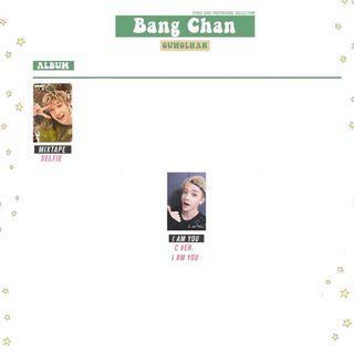 wtb stray kids bang chan albums + photocards