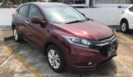 Honda Vezel 1.5X (Private Hire)