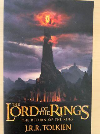 The Lord of the Rings: The Return of the King by J. R. R. Tolkien (Lord of the Rings #3)