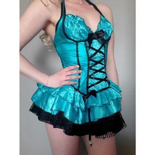 Sexy Alice in Wonderland Halloween Costume Lingerie Medium