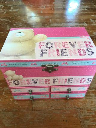 🚚 Forever Friends Jewelry Box