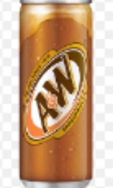 🚚 A&W root beer can 24 x 325ML