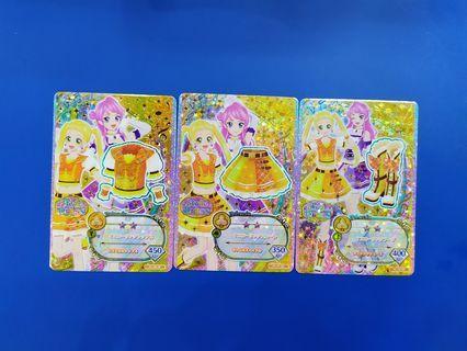 全新港版 星夢學園卡 偶像活動 Aikatsu 第5季 第1彈 CP 套裝(可散買)