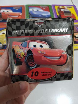 CARS little books of 6