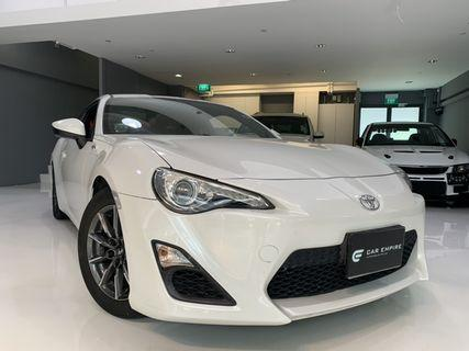 TOYOTA 86G 2.0 M/T AIRBAGS 2WD 2DR