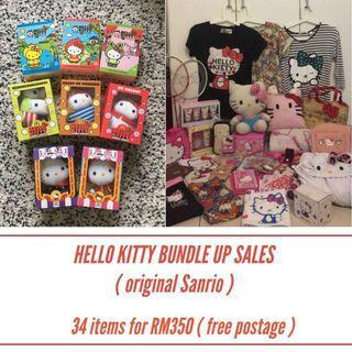 Hello kitty bundle up sales ( original Sanrio )