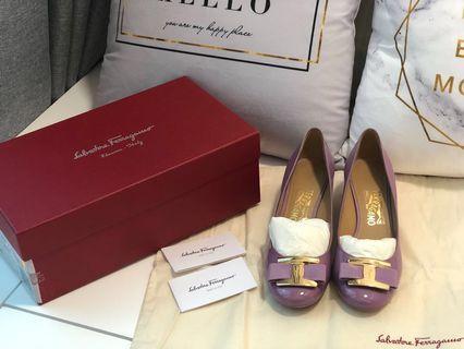Ferragamo Shoes 正品4cm 单鞋