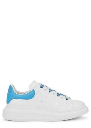 Alexander McQueen Larry white leather trainers