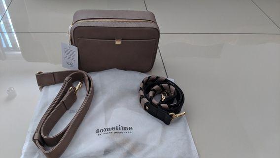 Lofar  bag medium mocha sometime by Asian designers