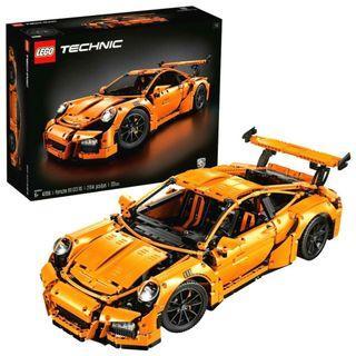 3盒全新 LEGO Technic Porsche 911 GT3 RS - 42056