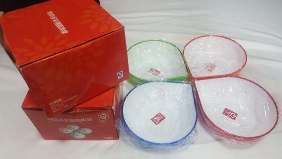 嘉頓 時尚多彩團圓果盤 x 2 盒 (共8個)