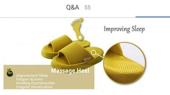 🚚 Refre Massage bedroom slippers
