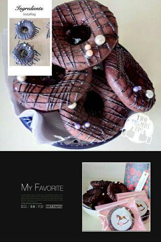 🚚 【五十六巷•刺蝟】chocolate donuts