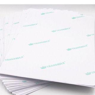 🚚 TransMax Heat Transfer Paper, Light or White Fabric (A4, 5sheets/pk)