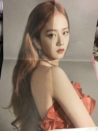 (WTT) Blackpink Jisoo posters from Kill This Love album