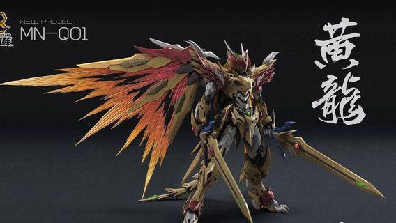 [Pre-Order] Motor Nuclear MN-Q01 Yellow Dragon Metal Build MB Barbatos Dragon King (ETA: June-July 2019)