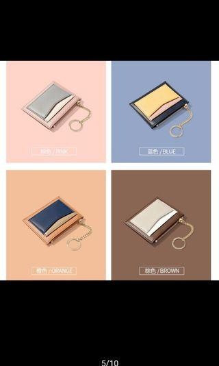 Wallet card import bahan kulit