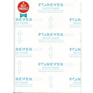 🚚 Forever Multi-TRANS transfer paper for hard surfaces (A4, 3sheets/pk)