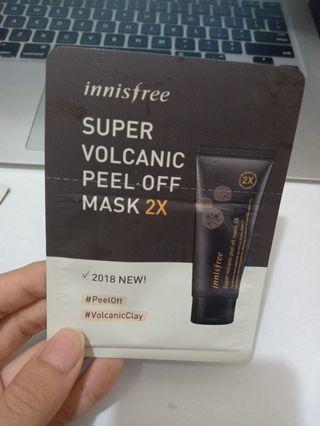 super volcanic peel off maske 2x