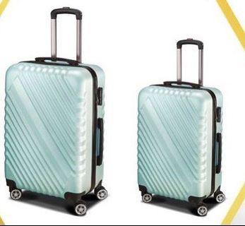 時尚漾彩子母行李箱(24&20吋)