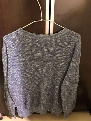 🚚 日本🇯🇵正版lily brown藍色針織毛衣 針織上衣