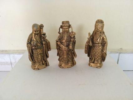🚚 Fu Lu Shou Figurines