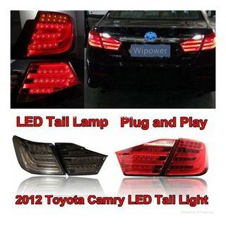 Toyota Camry acv50 LED Tail Lamp