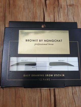 Browit by Nongchat Sticker Alis NEW