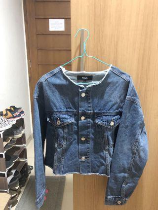 Pomelo - Crop Denim Jacket