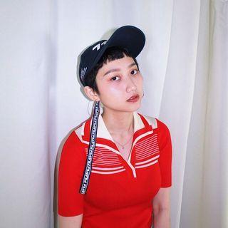 🚚 FILA斐樂 ✼深藍フィラ刺繡棒球帽✼ 純棉 台灣製 長織帶 中性老帽 日本古着Vintage