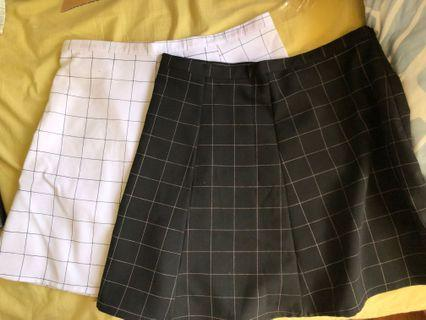 AA Grid Skirt