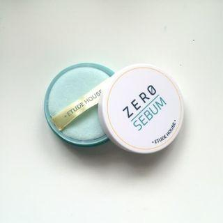 ETUDE HOUSE Zero Sebum Drying Powder New Packaging
