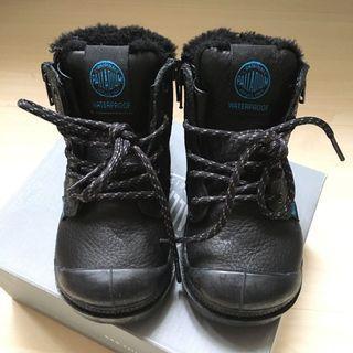 Palladium Boots 小童真皮靴 女童鞋